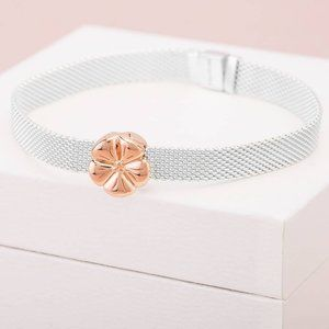 🎆Pandora Polished Flower Clip Charm